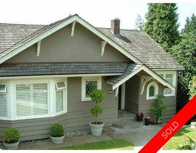 West Vancouver single family home for sale:   2,458 sq.ft. (Listed 2005-06-28)