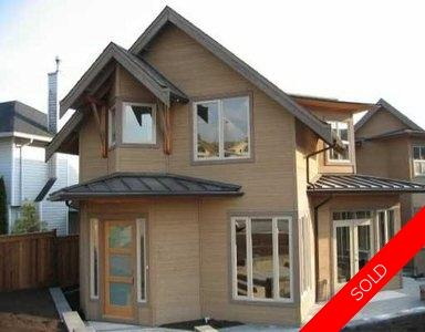 North Vancouver Coach House for sale:   1,723 sq.ft. (Listed 2005-04-28)