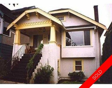 Vancouver single family home for sale:   1,843 sq.ft.
