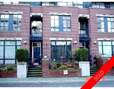 Kitsilano Townhouse for sale: Arbutus Walk - The Ansonia 2 bedroom 1,168 sq.ft. (Listed 2008-02-27)